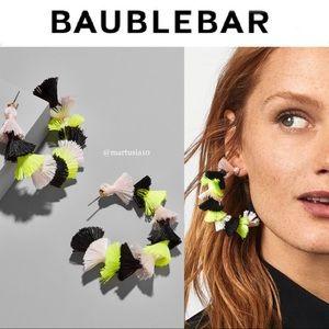 BAUBLEBAR SANTINA HOOP EARRINGS